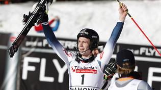 Noel scarta i regali nello slalom di Chamonix, Gross spreca