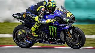 "Rossi sorride: ""Questa Yamaha ha un potenzialemigliore"""
