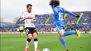Florenzi vede rosso e il Valencia sprofonda, Correa trascina l'Atletico