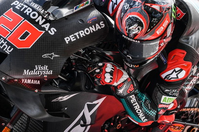 Il terzo giorno di test MotoGP a Sepang.