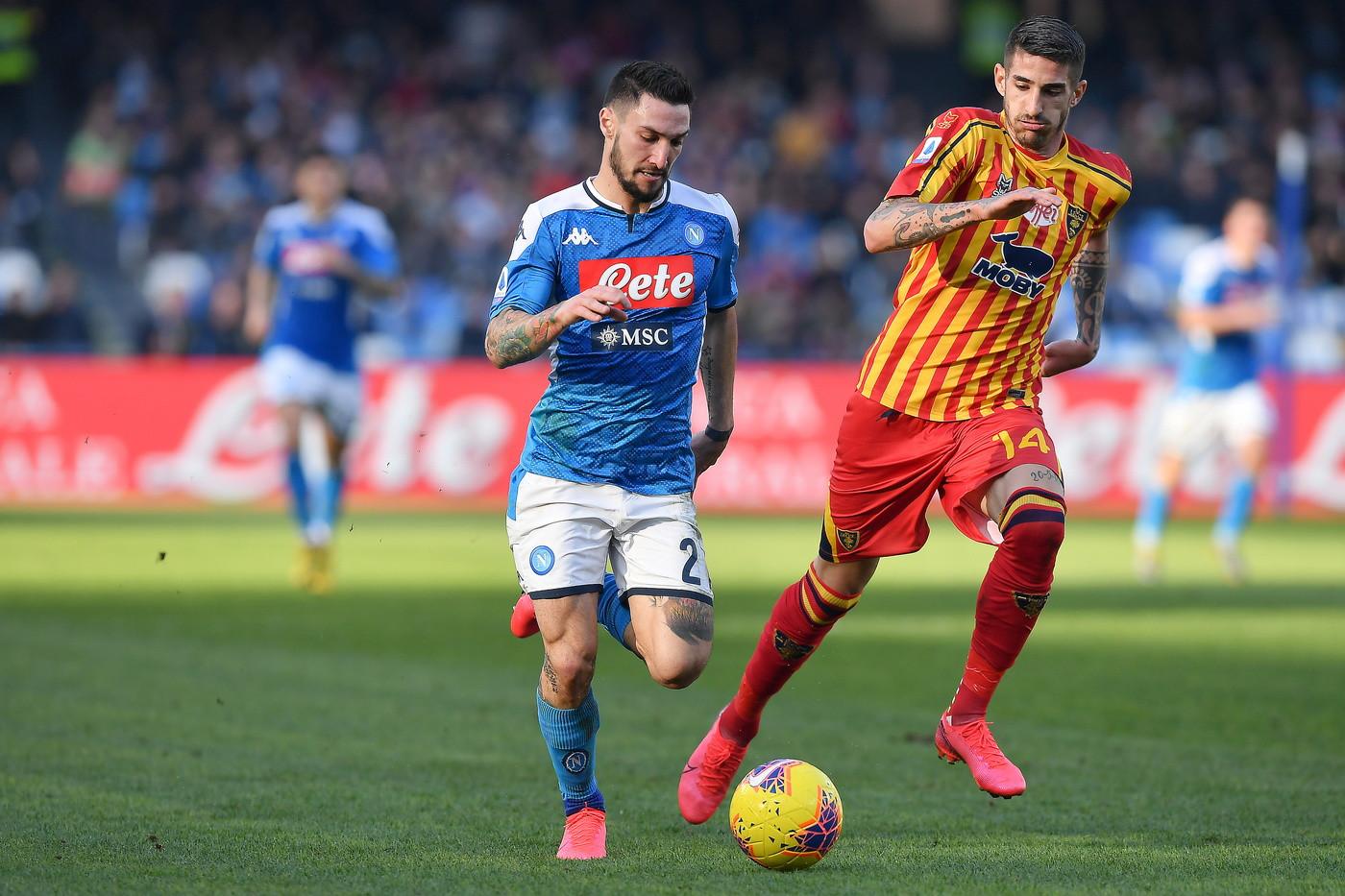 Napoli-Lecce, le immagini del match | Foto - Sportmediaset