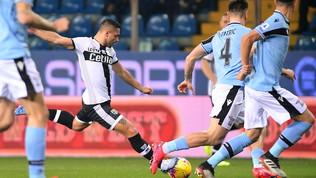 La Lazio espugna il Tardini, la vetta ora è vicina