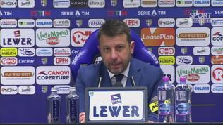 """Parma, D'Aversa: """"Arbitraggio? Lampante ciò che è successo"""""""