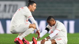 Douglas Costa fuori 20 giorni: a rischio per l'Inter