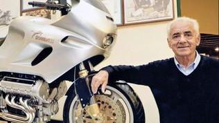 Addio a Giancarlo Morbidelli: con le sue moto corse il padre di Valentino