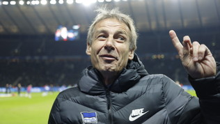 Klinsmann si dimette dopo 76 giorni ma... resta all'Hertha Berlino