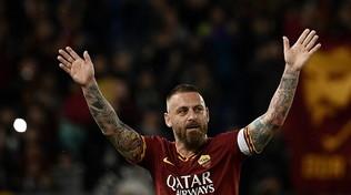 """De Rossi: """"Devastante l'addio alla Roma, con Tottirapporto vero"""""""