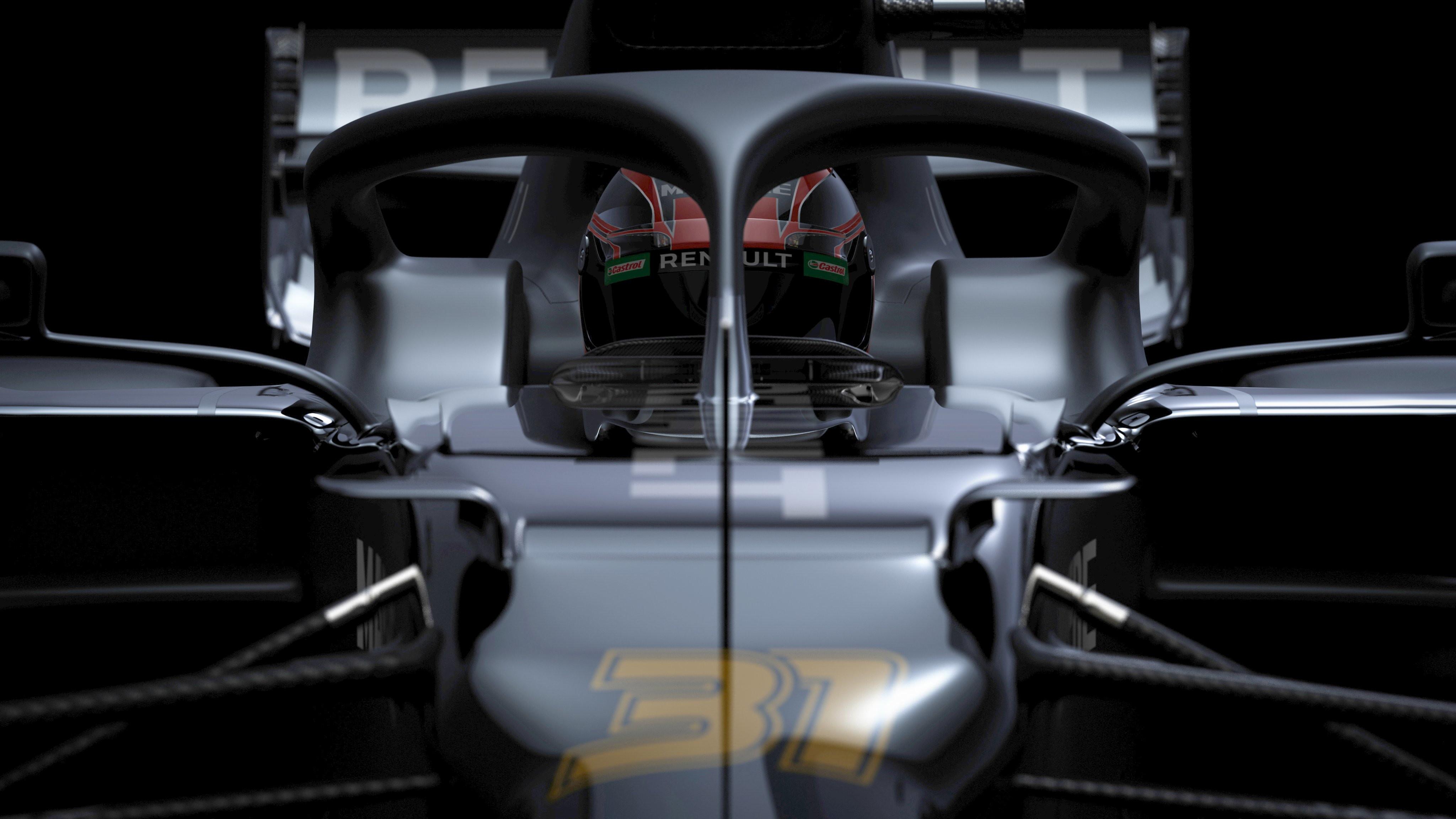 Svelate le prime immagini, dei render 3D,della nuova R.S.20 di Ricciardo e Ocon.