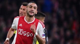 Il Chelsea ha scelto Ziyech: 44 milioni di euro all'Ajax