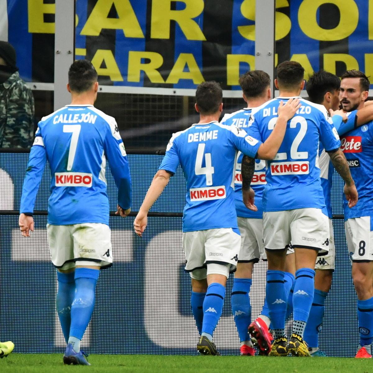 Coppa Italia, il Napoli passa con Fabian Ruiz: Inter ko a San Siro