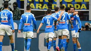 Fabian Ruiz gela l'Inter: il Napoli passa a San Siro