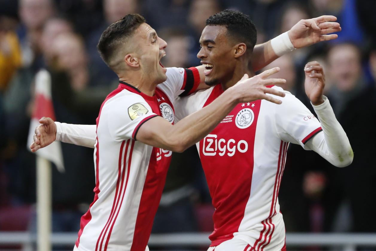 3) Ajax: +137 milioni (64 spesi, 201 guadagnati)