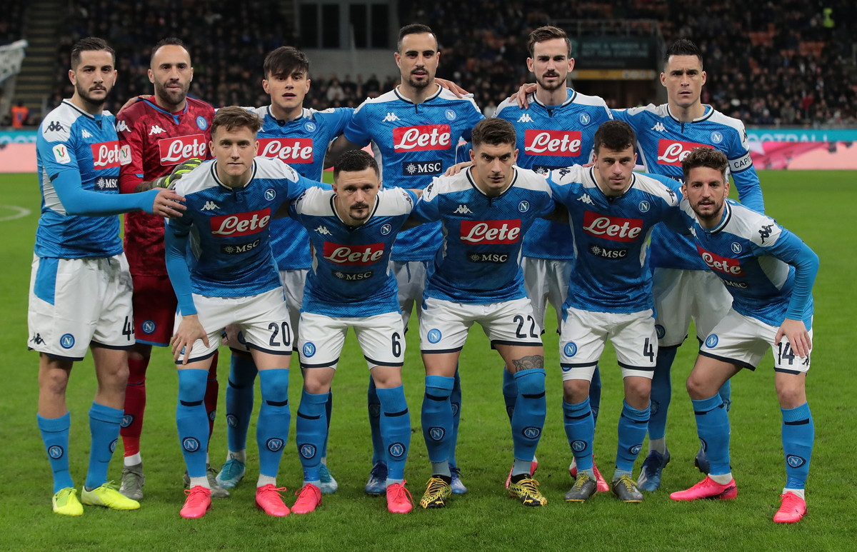 14) Napoli -80 milioni (196 spesi, 116 guadagnati)