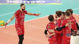 Il derby d'Europa è di Civitanova, Perugia vince soffrendo