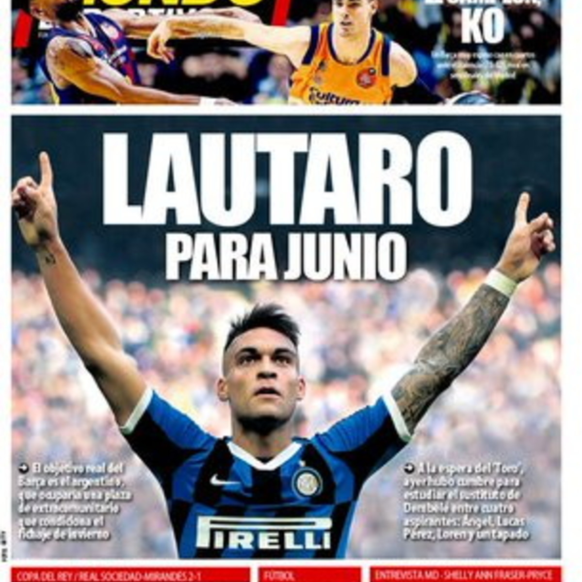 Attenta Inter: Real e Barcellona si sfidano per Lautaro Martinez