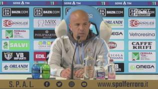 "Spal, Di Biagio: ""Più autostima e... più gol"""