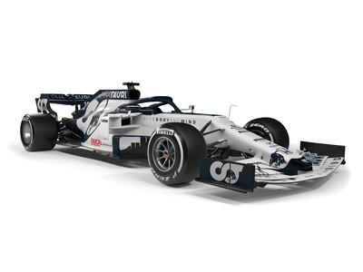 La scuderia gemella della Red Bull cambia nome (era Toro Rosso) e colori: ecco la nuova AT01, che sarà affidata a Gasly e Kvyat. Presentazione in grande stile a Salisburgo.