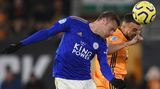Leicester in bianco coi Wolves, niente sorpasso al City