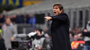 """Conte: """"Con la Lazio sfida tra ousider. Il Var a chiamata non mi piace"""""""