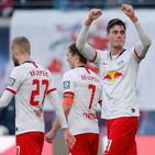 Bundesliga: tris e vetta per il Lipsia, il M'Gladbach passa a Düsseldorf