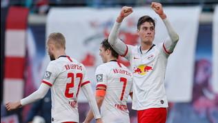 Schick gol e il Lipsia torna in testa | Leverkusen, colpo Champions
