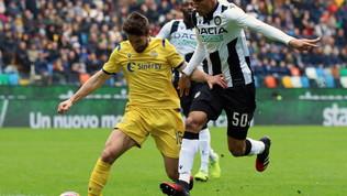 Udinese e Verona non vanno oltre lo 0-0