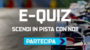 E-Quiz di Formula E: potresti vincere un'esperienza a Roma