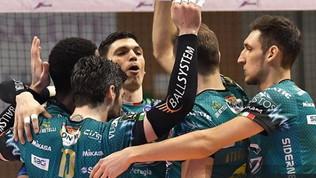 Perugia e Civitanova sempre a braccetto, Modena è terza