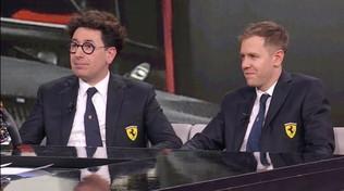 """Binotto: """"Vettel e Leclercmiglior coppia in F1, ma fanno un po' tribolare..."""""""
