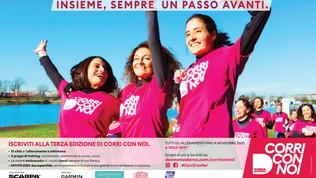 Corri con noi: al via la terza edizione del progetto dedicato alle donne che corrono o camminano