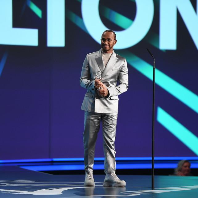 Premio Laureusex-aequo per la prima volta:vincono Hamilton e Messi