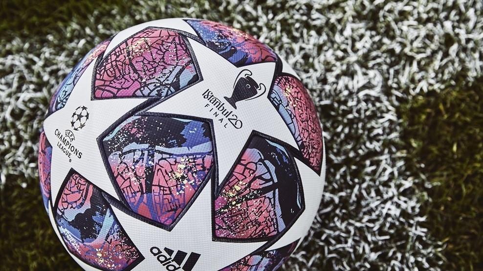 Adidas ha svelato il pallone della fasefinale di Champions League 2019-20 a Istanbul. Il disegno è pressoché lo stesso degli ultimi anni, ma cambiano i colori utilizzati da adidas per rendere omaggio alla città ospitante. Il complesso disegno presenta una interpretazione artistica di una mappa della città turca.Sarà utilizzato a partire dagli ottavi di finale