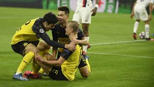 Ci pensa sempre Haaland: il Dortmundsi impone sul Psg