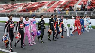Hamilton, Leclerc& C. in passerella... sulla pista