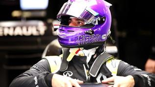 Ricciardoporta Kobe in pista