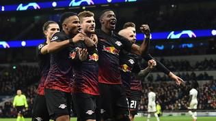 Timo Wernerpunisce il Tottenham: gode il Lipsia