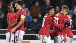 United, pari in rimonta a Bruges | Ajax ko, poker Eintracht