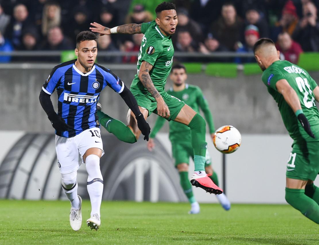 Le migliori immagini della sfida tra Ludogorets e Inter, andata dei sedicesimi di finale di Europa League