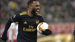 Lacazette fa felice l'Arsenal| Il Leverkusen batte il Porto