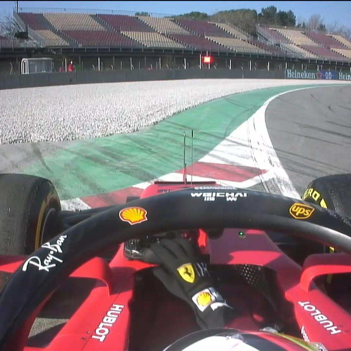 F1, test Barcellona: la Ferrari lascia a piedi Vettel