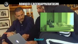 Un fantasma in casa, Bonucci fa il ghostbuster