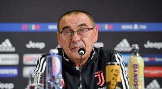 """Sarri: """"Conta solo la Spal, Higuain ancora dolorante e Chiellini..."""""""