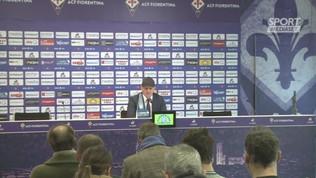 """Fiorentina,""""Iachini: """"Milan forte. Ibra un fenomeno"""""""