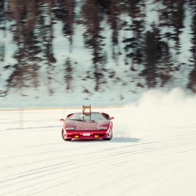 Auto e neve, ecco the I.C.E. St. Moritz: