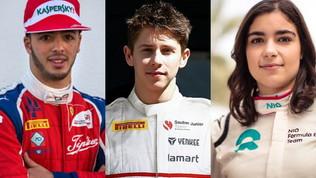 Tutti i piloti dei rookie test: c'è anche Arthur Leclerc