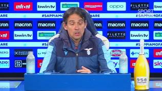 """Lazio, Inzaghi: """"Rimanere umili, Genova tappa importante"""""""