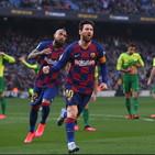 Liga: poker di Messi, il Barcellona spaventa il Napoli e supera il Real Madrid sconfitto dal Levante