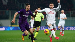Fiorentina-Milan, al Franchi è 1-1