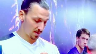 """Vlahovic: """"Trova qualcuno che ti guardi come io guardo Zlatan…"""""""