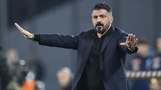 """Gattuso: """"Il Barça è superiore, ma noi ce la giochiamo"""""""